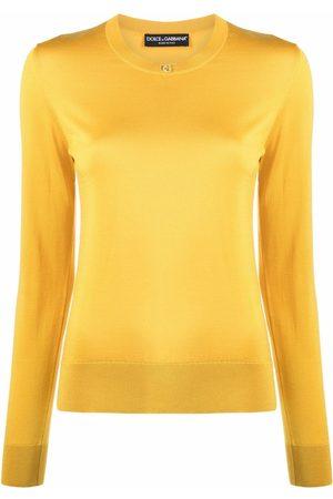 Dolce & Gabbana Silk long-sleeve jumper