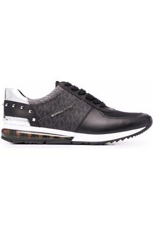 Michael Kors Monogram-panelled sneakers