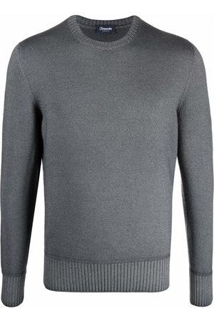 DRUMOHR Crew-neck merino jumper - Grey