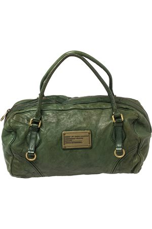 Marc Jacobs Leather Boston Duffel Bag
