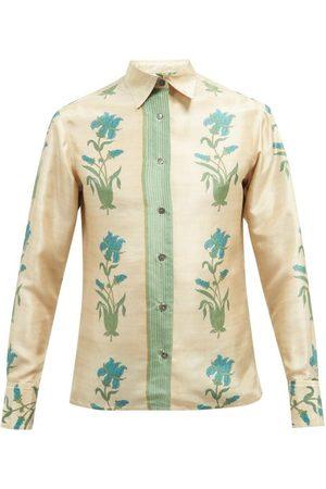 73 London Floral-print Silk Shirt - Mens - Multi