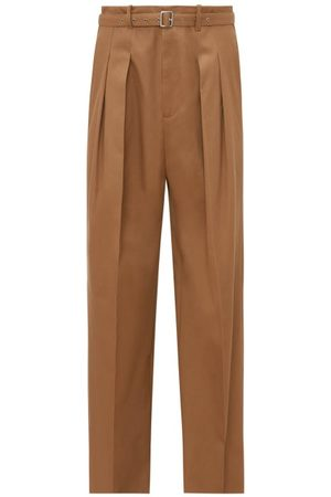 J.W.Anderson Grown-on Waist Twill Trousers - Mens