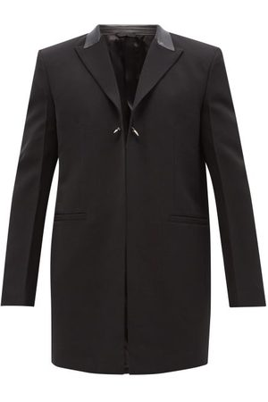 Givenchy Studded Wool Overcoat - Mens
