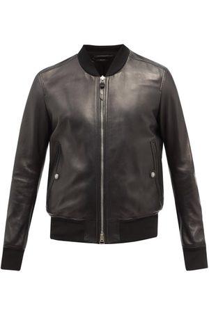 Tom Ford Plongé-leather Bomber Jacket - Mens