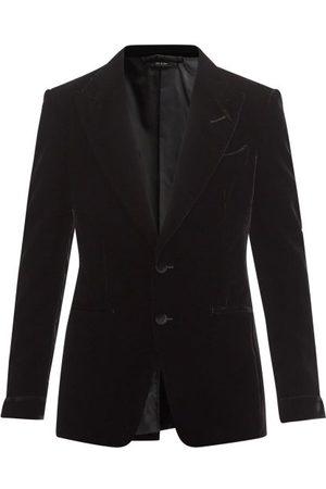 Tom Ford Shelton Velvet Tuxedo Jacket - Mens