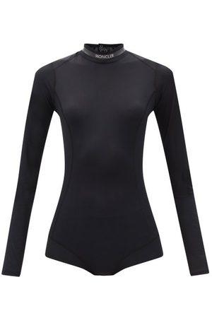 Moncler Scoop-back Technical-jersey Bodysuit - Womens