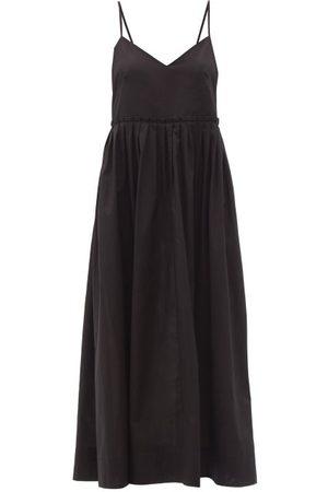 Three Graces London Women Midi Dresses - Aspen V-neck Cotton Midi Dress - Womens