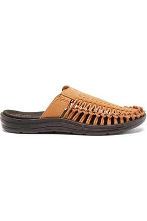 Keen Uneek Ii Recycled Faux-suede And Cord Slides - Mens