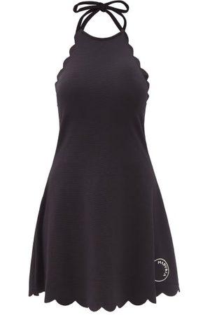Marysia Sport Bianca Scalloped-edge Halterneck Dress - Womens