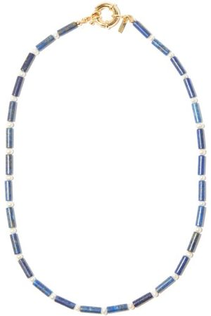 Eliou Delph Pearl & Gold-plated Beaded Necklace - Mens
