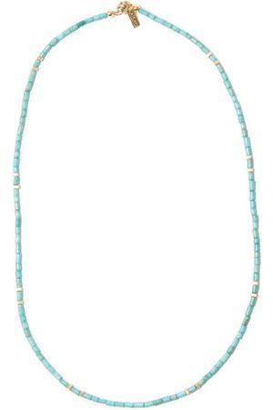 Eliou Kali Turquoise & Gold-filled Necklace - Mens - Light