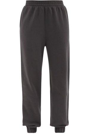 The Upside Women Sweatpants - Major Logo-print Cotton-jersey Track Pants - Womens
