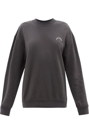 The Upside Aurelie Logo-print Cotton-jersey Sweatshirt - Womens