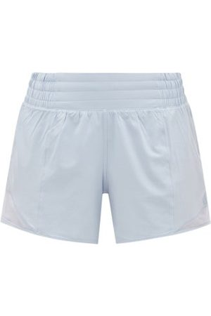"Lululemon Women Sports Shorts - Hotty Hot Ii 4"" Running Shorts - Womens - Light"