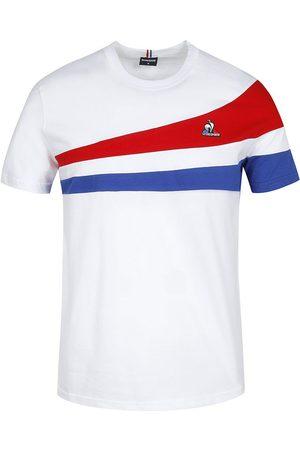 Le Coq Sportif Tri N°1 Short Sleeve T-shirt S New Optical