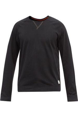 Paul Smith Overlocked-seam Long-sleeve Cotton-jersey T-shirt - Mens