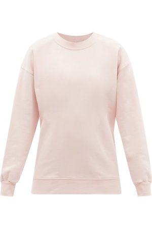 Lululemon Perfectly Oversized Cotton-terry Sweatshirt - Womens - Light