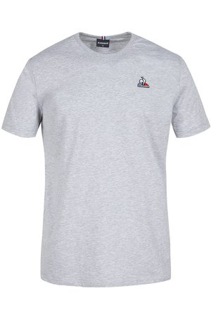Le Coq Sportif Essentials N3 Short Sleeve T-shirt L Light Heather Grey