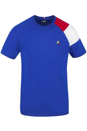 Le Coq Sportif Essentials N10 Short Sleeve T-shirt L Electro / Pure Red / New Optical White