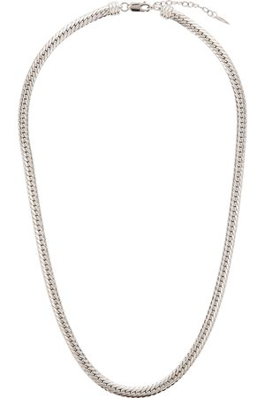 Missoma Camail -plated snake chain necklace