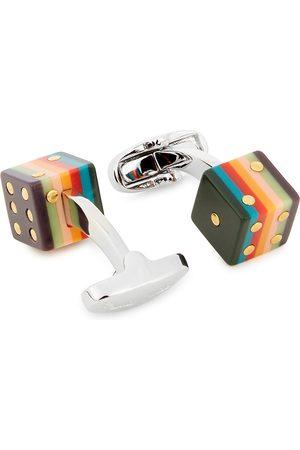 Paul Smith Dice silver-tone cufflinks