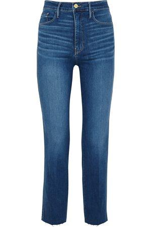 Frame Le Sylvie straight-leg jeans