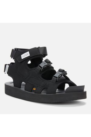 SUICOKE Men's Boak-V Triple Strap Sandals