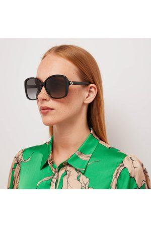 Gucci Women Square - Women's Gradient Square Frame Acetate Sunglasses