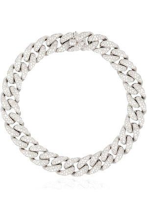 SHAY 18kt white pavé diamond bracelet - METALLIC