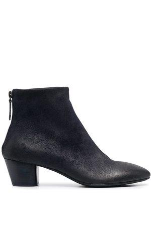 MARSÈLL Women Ankle Boots - Block heel rear zip ankle boots