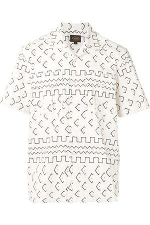 Tod's Men Shirts - Printed cotton shirt