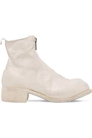 GUIDI 1896 40mm Pl1 Zip-up Leather Ankle Boots
