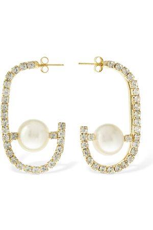 ROSANTICA Women Earrings - Dedica & Faux Pearl Earrings