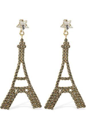 ROSANTICA Women Earrings - Voyage Crystal Pendant Earrings