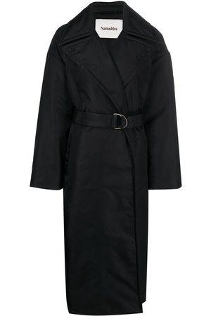 Nanushka Liano padded trench coat