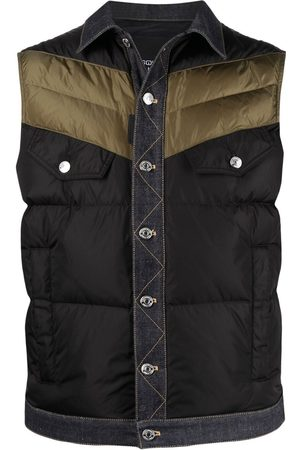 Dsquared2 Panelled padded gilet