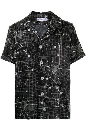 Fred Segal Star map print short-sleeve shirt