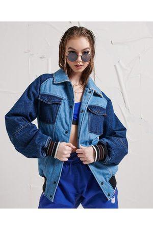Superdry Unisex Energy Varsity Denim Jacket