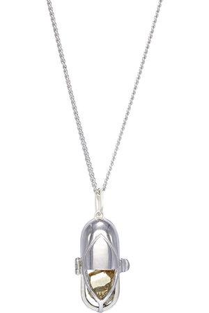 CAPSULE ELEVEN Capsule crystal pendant necklace