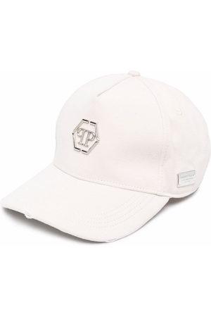 Philipp Plein Logo baseball cap - Neutrals