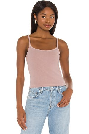 Tularosa Green The Dylan Tank Top in Mauve.