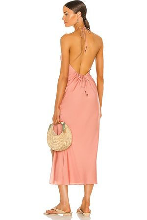 Song of Style Rosalind Maxi Dress in Pink.