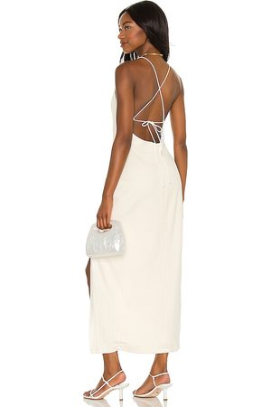 Song of Style Cyndie Midi Dress in .