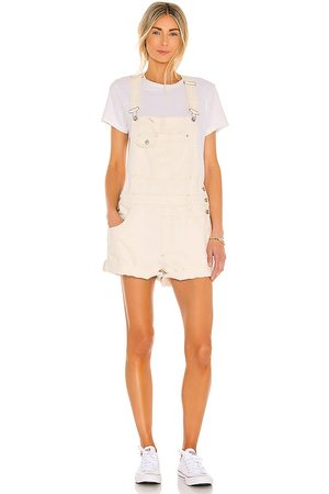 Free People Baggy Shortall in Neutral.