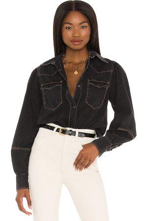 AllSaints Veela Shirt Bodysuit in .