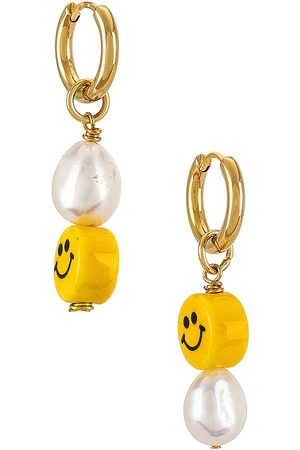 NOTTE Baby Happy Together Earrings in Metallic .