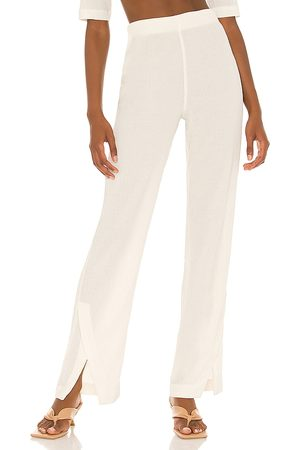 Song of Style Juna Pant in Ivory.
