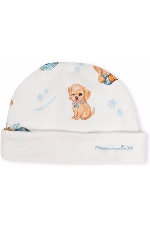 Monnalisa Hats - Graphic print knit hat