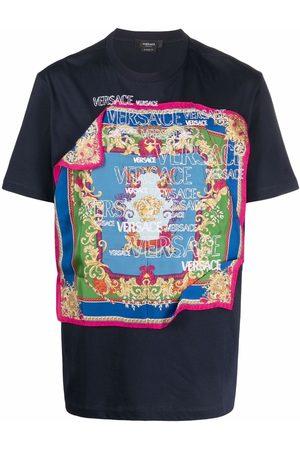 Versace Barocco-scarf T-shirt