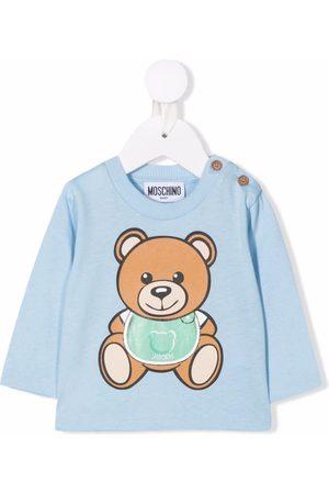 Moschino Teddy bear long-sleeved top